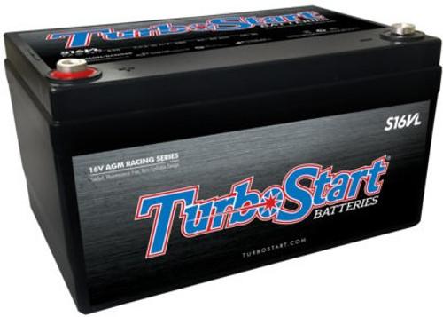 TurboStart 16V Light Weight AGM Race Battery #S16VL