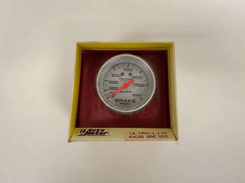 Auto Meter Brake Pressure Gauge 4426 - New
