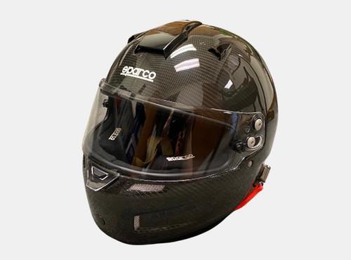 SPARCO Sky RF7W Carbon Fiber Large Helmet - Like New