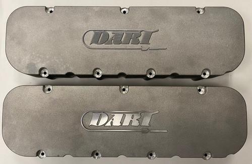 Dart BBC Cast Aluminum Valve Covers #68000040 - Lightly Used