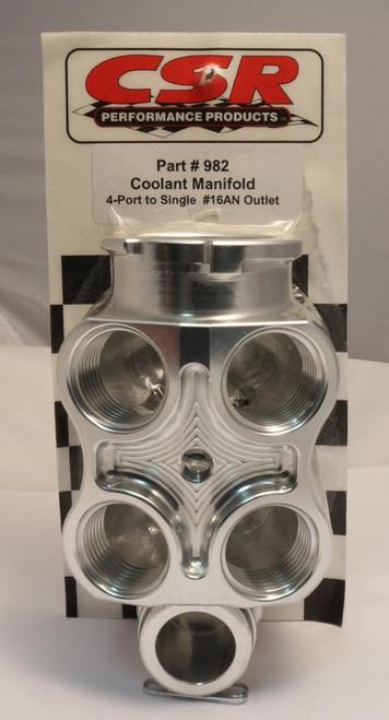 CSR 4-to-1 Coolant Manifolds 982