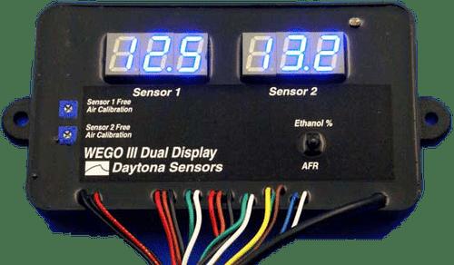Daytona Sensors WEGO 3 Dual Channel Wide-band AFR Tuning Kit 112005