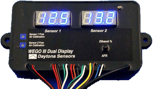 Daytona Sensors WEGO 3 Dual Channel Wide-band AFR Tuning Kit with Lambda Calibration 112006