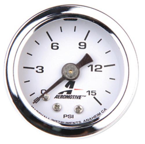 Aeromotive 15632 - Fuel Pressure Gauge 0 - 15psi