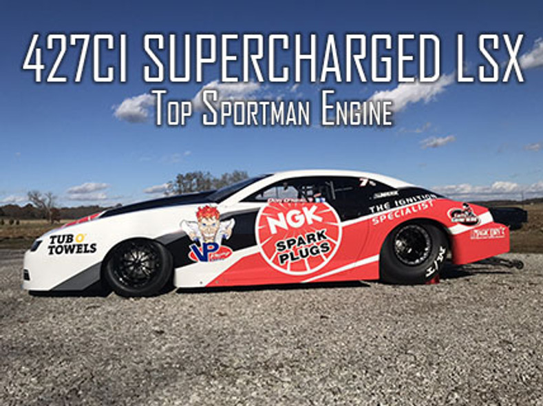 Patterson Elite to Build 427ci Supercharger LSX for O'Neal's Top Sportsman Camaro