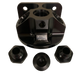 Patterson Elite Billet Remote Oil Filter Mount Kit - Black Anodized