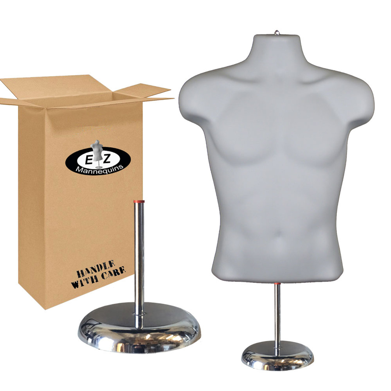 Deluxe Male Mannequin with Base