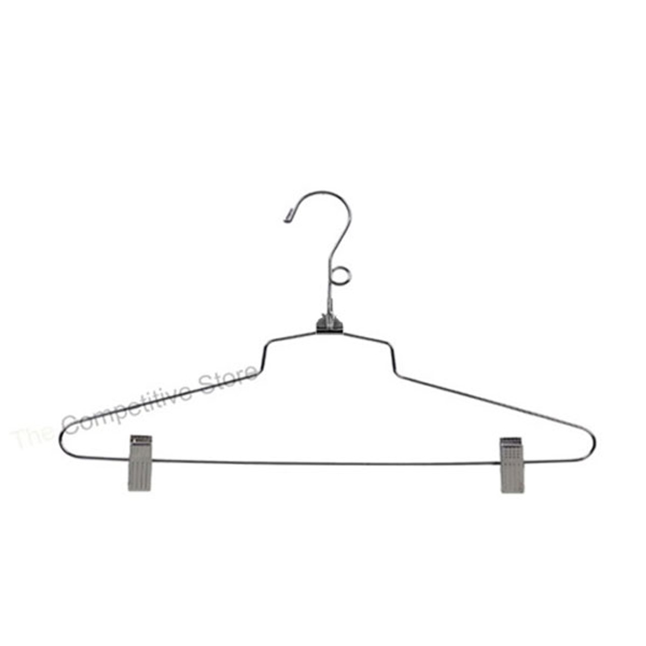 16 Metal Combination Hanger With Loop Hook