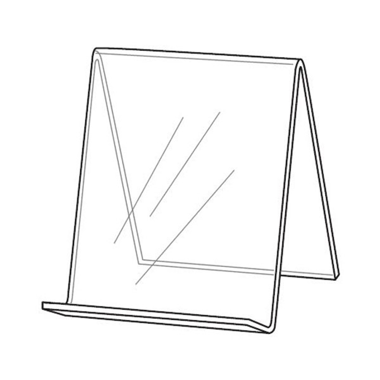 Book Easel w/o Front Lip