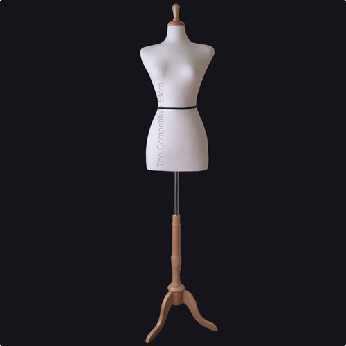 White Female French Mannequin Dress Form