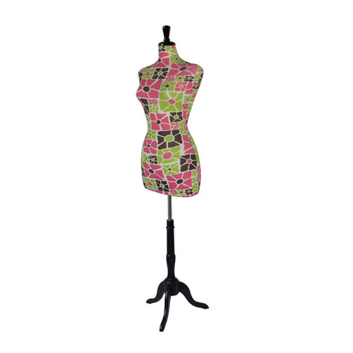 Decorative Mannequin Square Floral