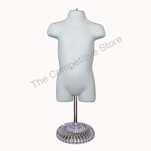 Toddler Mannequin with Plastic Base