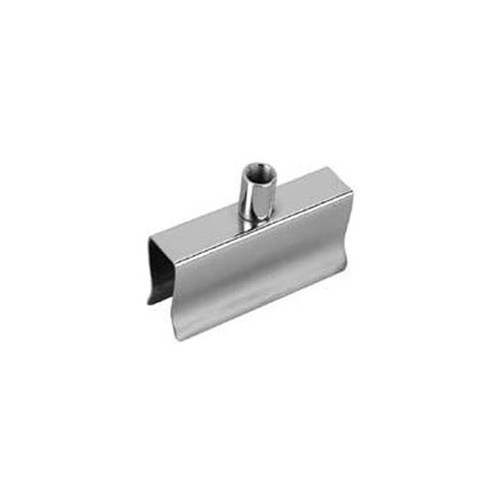 """Spring Clamp For 1/2""""X1-1/2"""" Rect Tubing Chrome"""