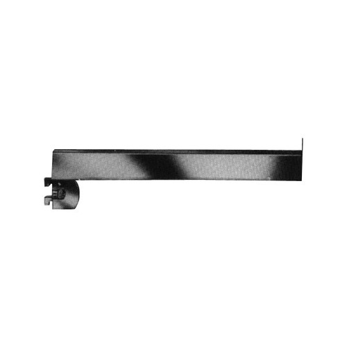 "12"" Chrome Rectangular Tubing Face-Out For Standards 1/2"" Slots On 1"" Center"