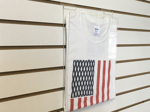 T-Shirt Display for Slatwall Panels