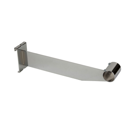 "12"" Gridwall Bracket For 1-1/4"" Round Tubing - Chrome"