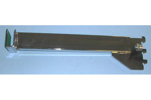 "12"" Blade Bracket For Rect Tubing Chrome"