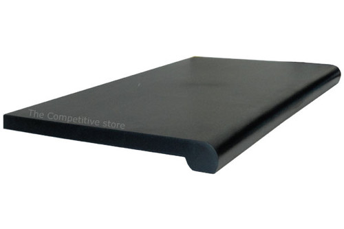 """13"""" X 24"""" Bullnose Injection Shelf With Open Bottom"""