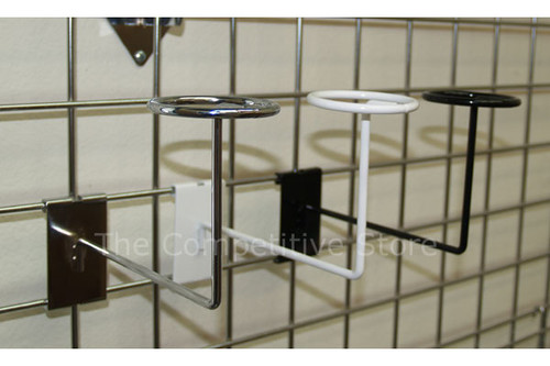 Gridwall Cap or Hat Holder Display Rack - Store Fixture For Grid Panels