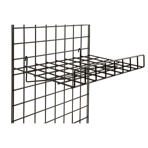 """15"""" X 24"""" Straight Shelf With Front Lip"""