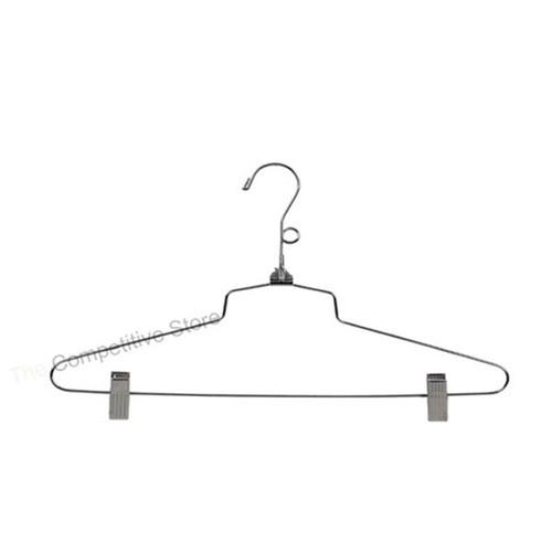 """16"""" Metal Combination Hanger With Loop Hook"""