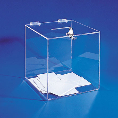 Locking Ballot / Donation Box