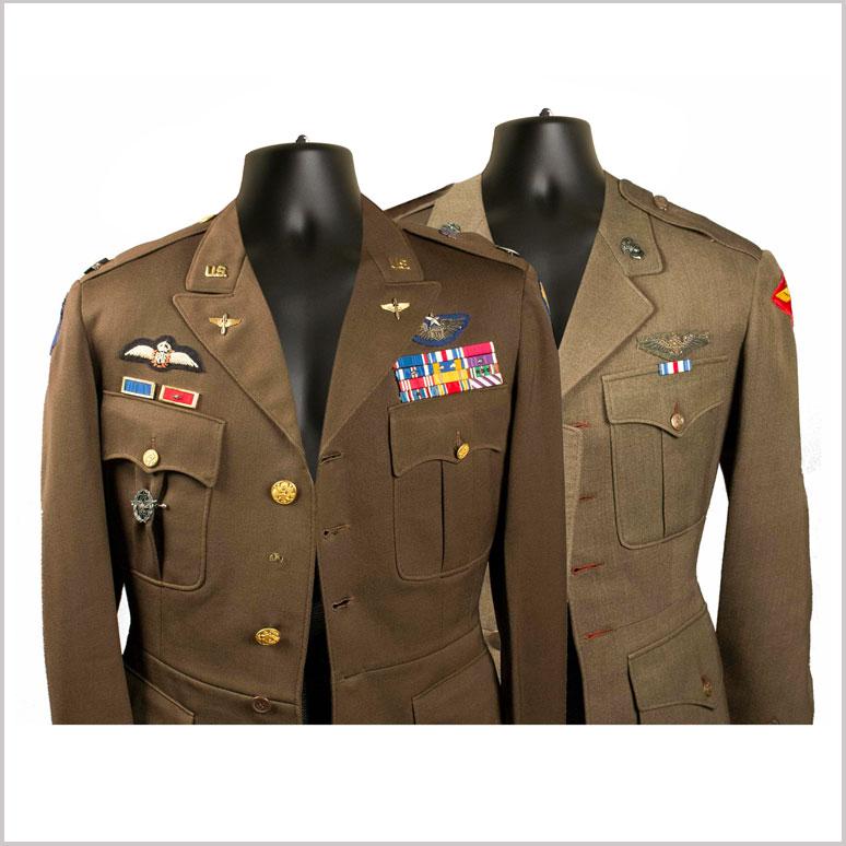 Military Uniform Display Mannequins
