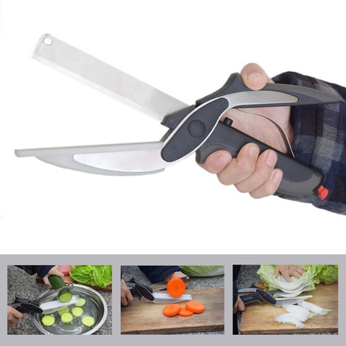 Clever Cutter Kitchen Scissors with Cutting Board
