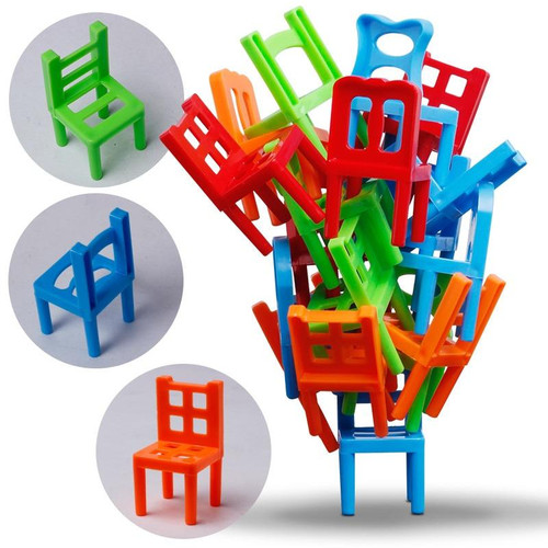 Chairs Stacking Puzzle Game