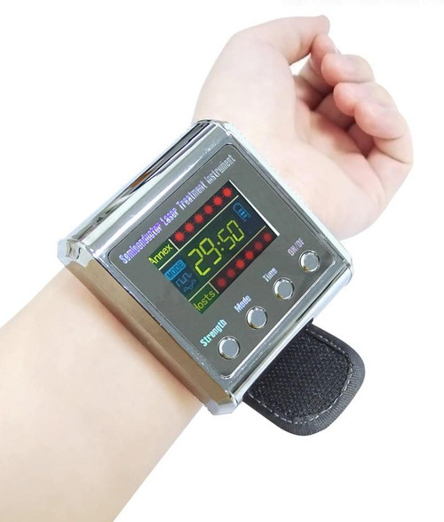 Hypertension Laser Therapy Watch