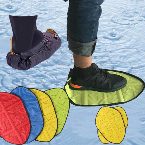 Reusable Shoe Cover One Step Hand Free Sock Shoe