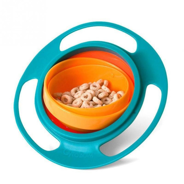 Spill-Proof Baby Gyro Bowl Dish