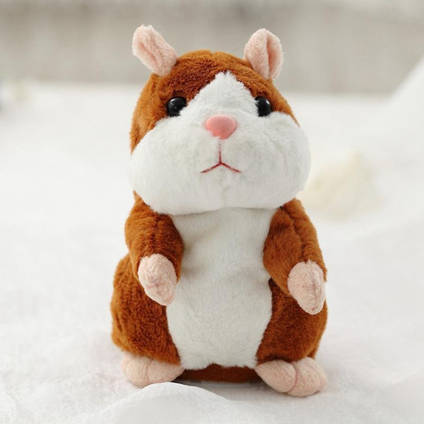 Talking Hamster Christmas Toy