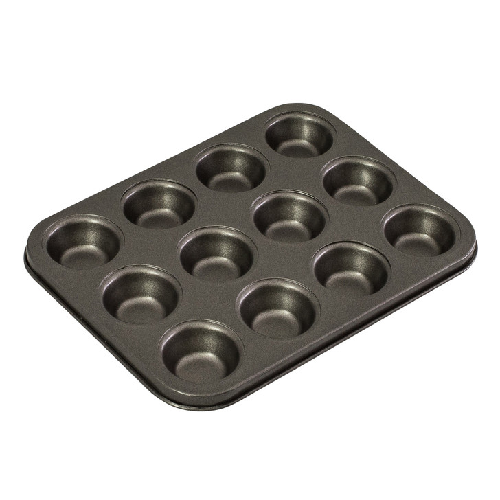 12 Cup Mini Muffin Pan, 26 x 20cm/4.5 x 2cm - Non-stick