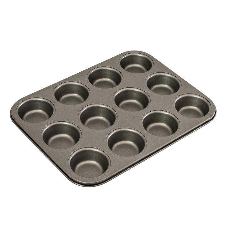 12 Cup Muffin/Cupcake Pan, 35 x 27cm/7 x 2.5cm - Non-stick