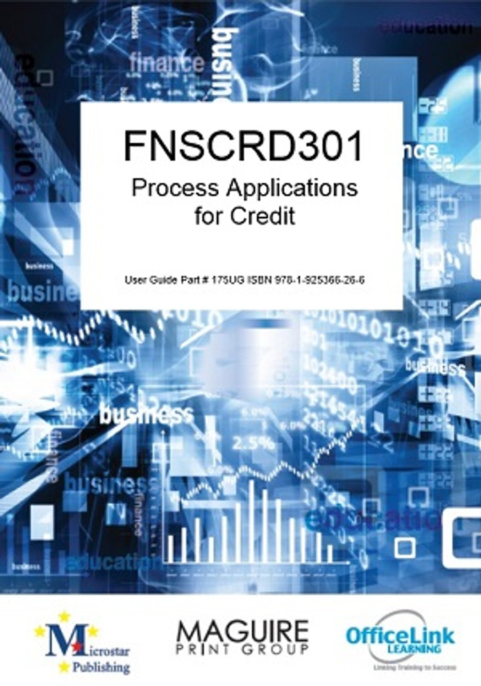 FNSCRD301 Process Applications for Credit