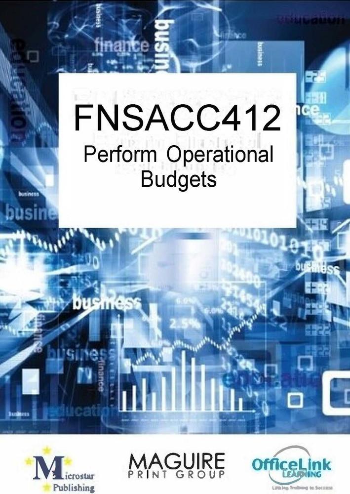 FNSACC412 Prepare Operational Budgets