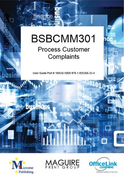 BSBCMM301 Process Customer Complaints