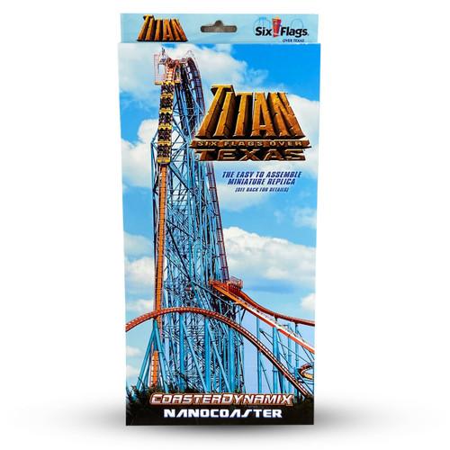 Six Flags over Texas Titan coaster
