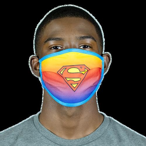 DC COMICS SUPERMAN OMBRE MASK