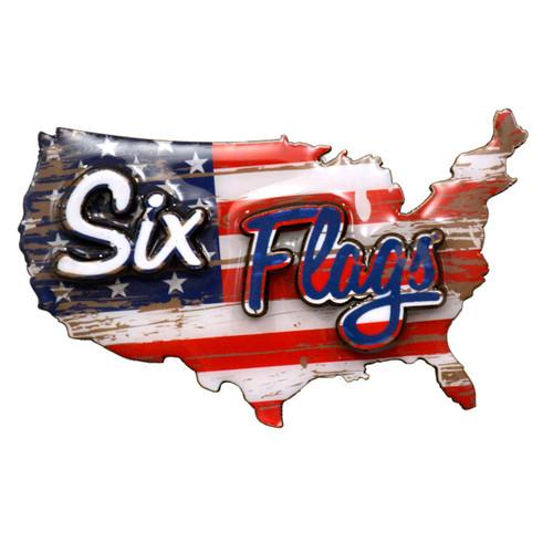 SIX FLAGS AMERICANA MAGNET