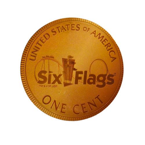 SIX FLAGS MAGNET