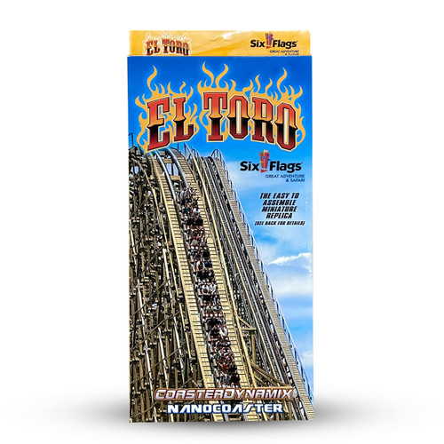 SIX FLAGS NANOCOASTER - EL TORO (SIX FLAGS GREAT ADVENTURE)