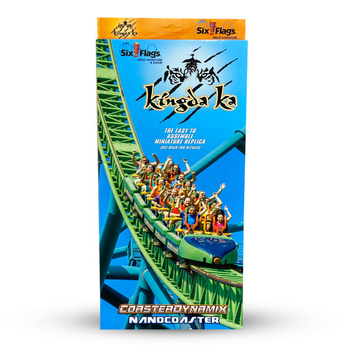 SIX FLAGS NANOCOASTER - KINGDA KA (SIX FLAGS GREAT ADVENTURE)