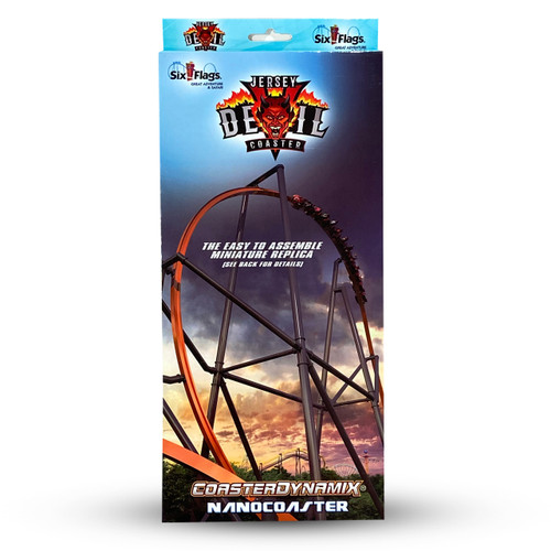 SIX FLAGS NANOCOASTER - JERSEY DEVIL (SIX FLAGS GREAT ADVENTURE)