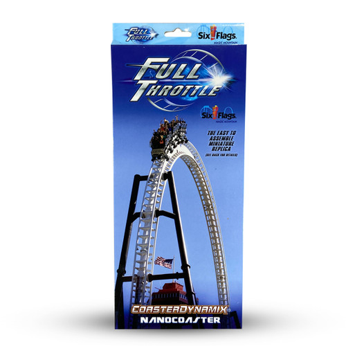 SIX FLAGS NANOCOASTER - FULL THROTTLE (SIX FLAGS MAGIC MOUNTIAN)