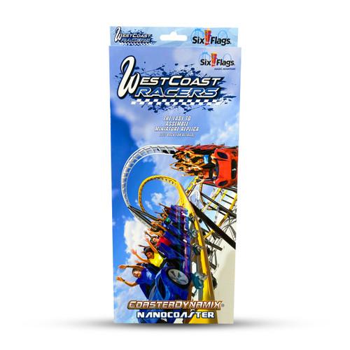 SIX FLAGS NANOCOASTER - WEST COAST RACERS (SIX FLAGS MAGIC MOUNTAIN)