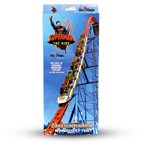 SIX FLAGS NANOCOASTER - SUPERMAN (SIX FLAG NEW ENGLAND)