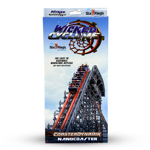 SIX FLAGS NANOCOASTER - WICKED CYCLONE (SIX FLAGS NEW ENGLAND)