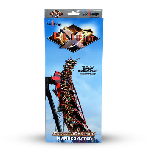 SIX FLAGS NANOCOASTER - XFLIGHT (SIX FLAGS GREAT AMERICA)